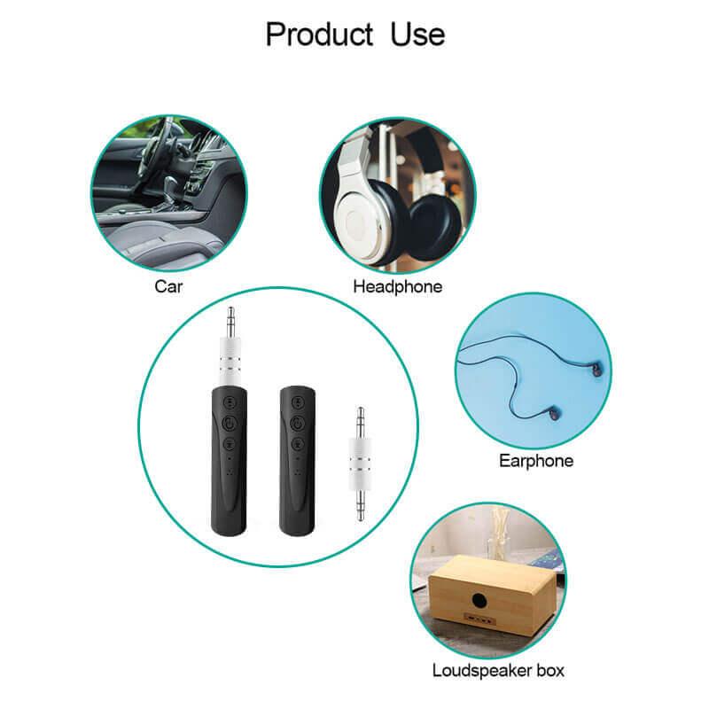 Как сделать любые проводные устройства беспроводными за 2$ bluetooth audio receiver