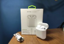 Наушники Optima Air Headset Bluetooth TWS T3 White