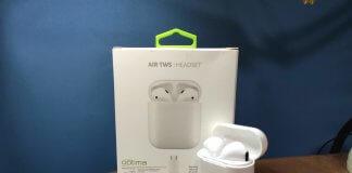 Наушники Optima Air Headset Bluetooth TWS T3 White